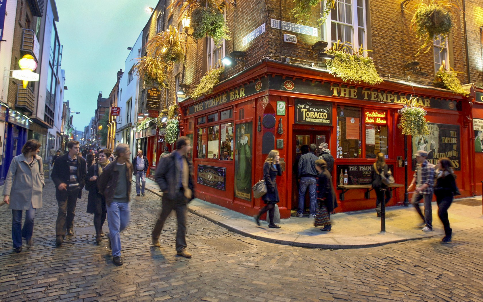 plus beau pub : temple bar