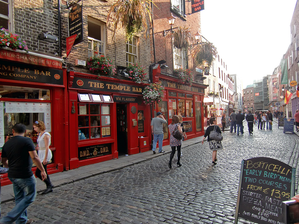 Temple bar - visiter Dublin