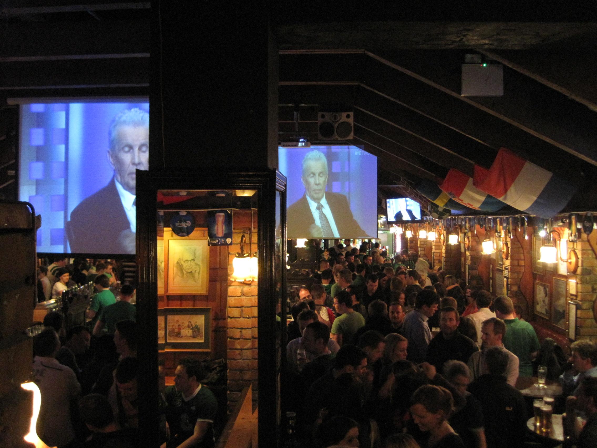 meilleur pub de Dublin pour regarder la coupe du monde : The Sinnotts