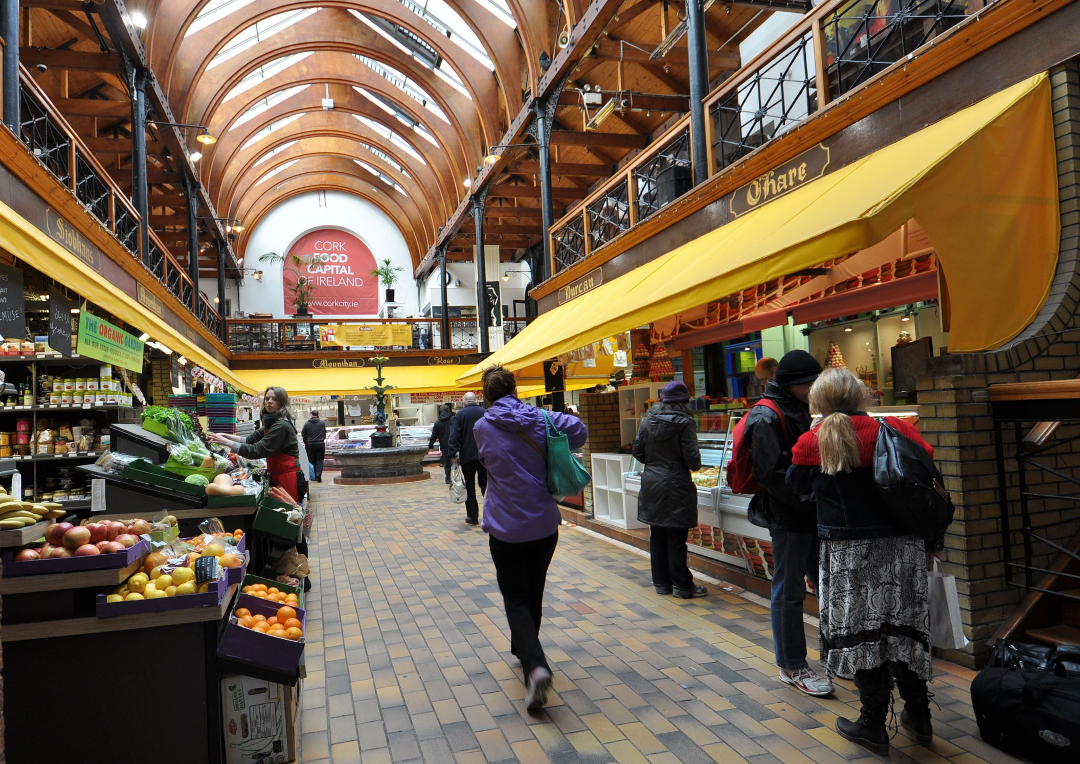 Visite de Cork avec l english market