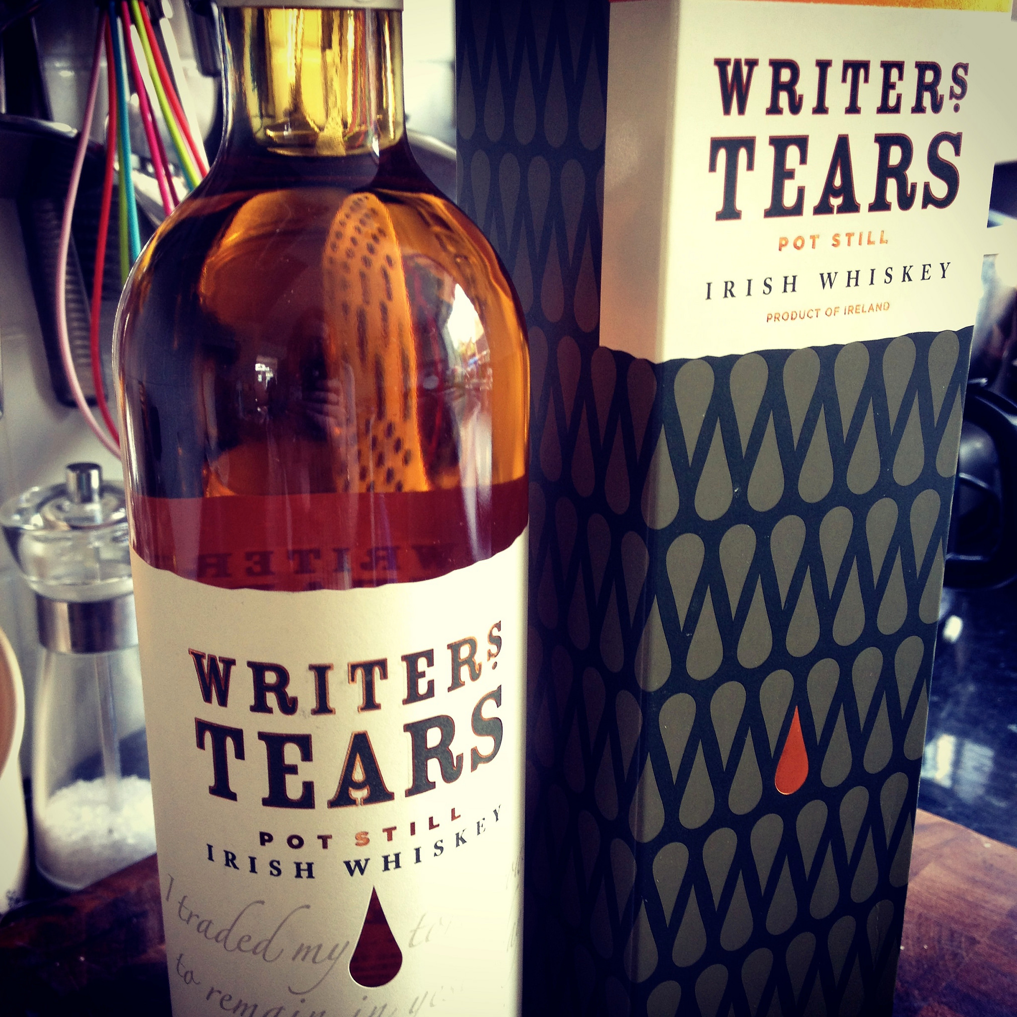 The writer's tears : Whisky irlandais