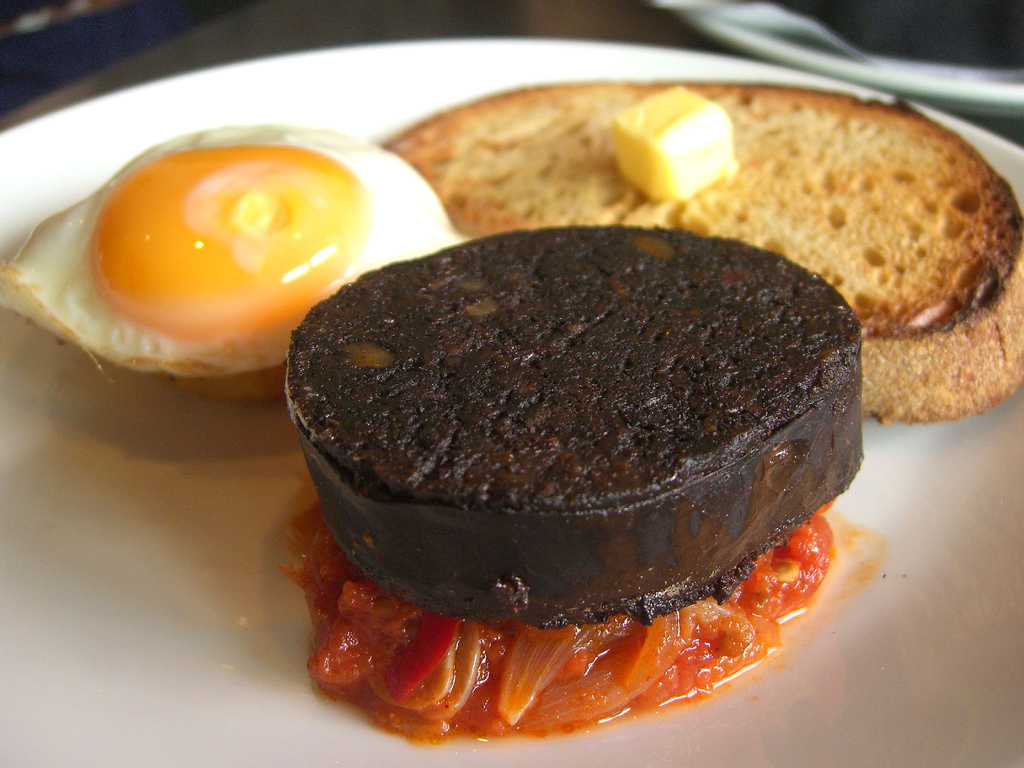 Le black pudding