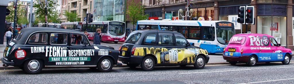 Le black cab tour de Belfast