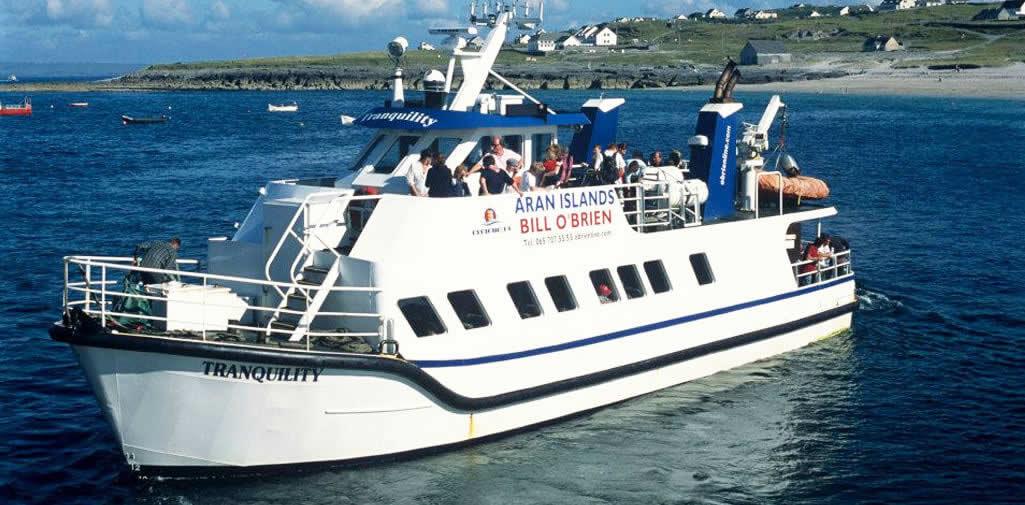 Un des bateau pour vous rendre sur les îles