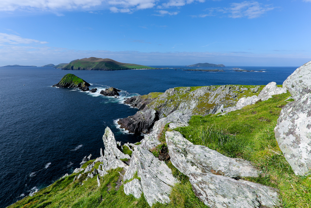 Blasket Islands vers Dingle