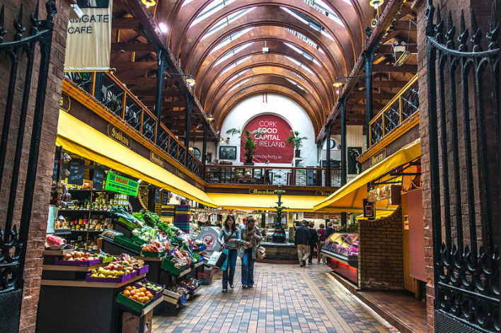 Old market de Cork